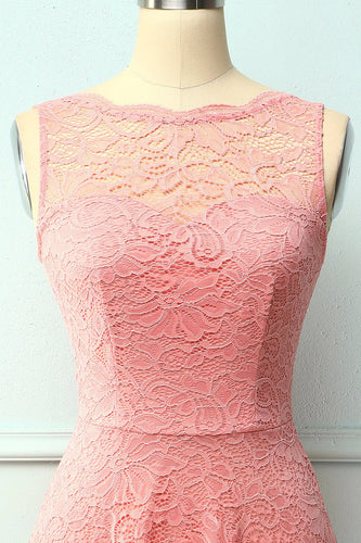 Lace Blush Formal Dress