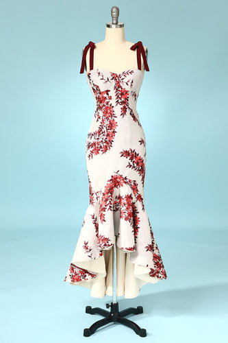 Mermaid Floral Party Dress