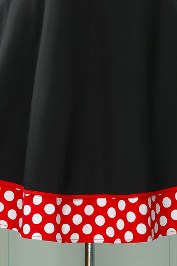 Red White Polka Dots Swing