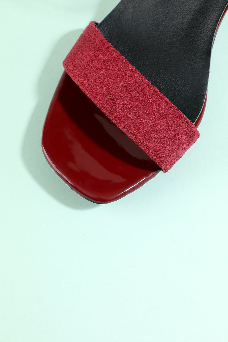 Load image into Gallery viewer, Burgundy Party Shoes