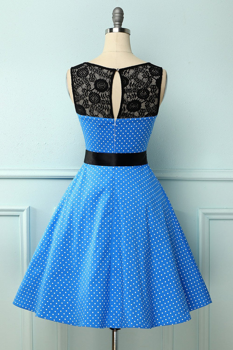 Load image into Gallery viewer, White Vintage 1950s Swing Dress