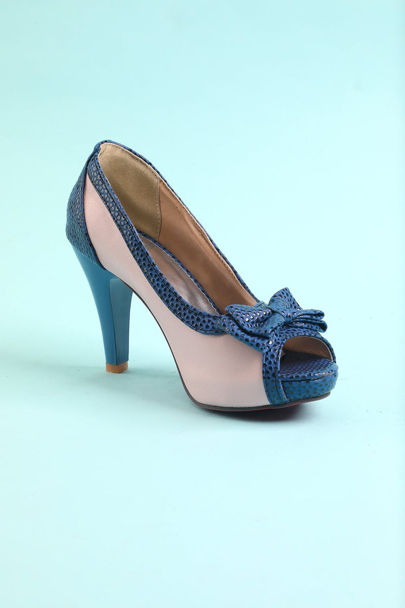 Load image into Gallery viewer, High Heels with Bowknot