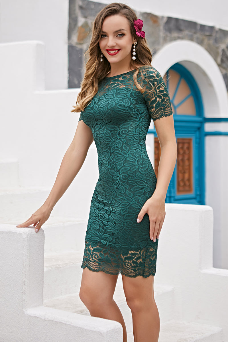 Load image into Gallery viewer, Green Bodycon Mother Dress
