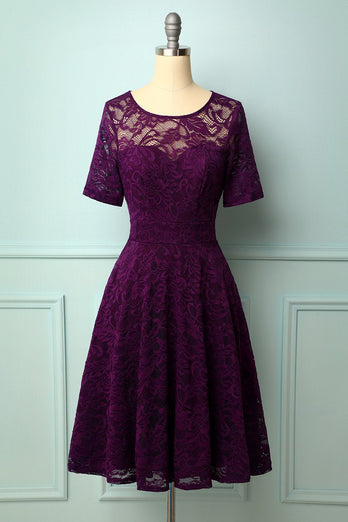 Grape Bridesmaid Lace