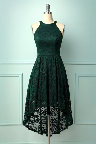 Asymmetrical Green Lace