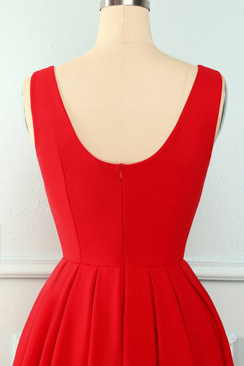 Red Tiered Dress