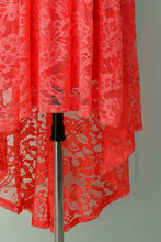 Load image into Gallery viewer, Coral Lace Dress