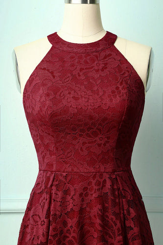 Burgundy Red Dress