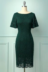 Green Mother Dress