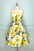 Load image into Gallery viewer, 1950s Lemon Dress