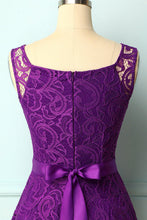 Load image into Gallery viewer, Purple Lace Bridesmaid