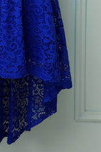 Load image into Gallery viewer, Royal Blue Off the Shoulder Dress