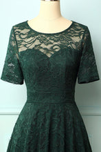 Load image into Gallery viewer, Dark Green Bridesmaid Lace