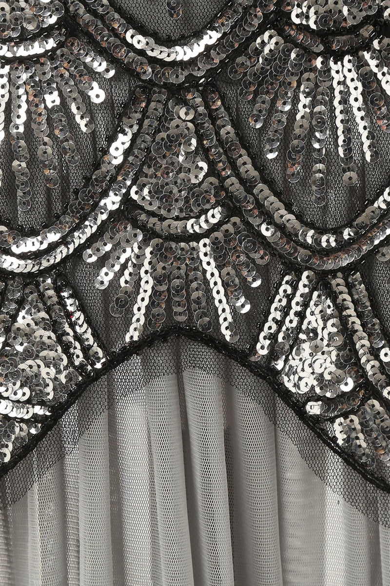 Load image into Gallery viewer, Long 1920s Sequin Dresses