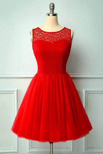 Red Lace Homecoming