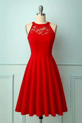 Red Bridesmaid Dress