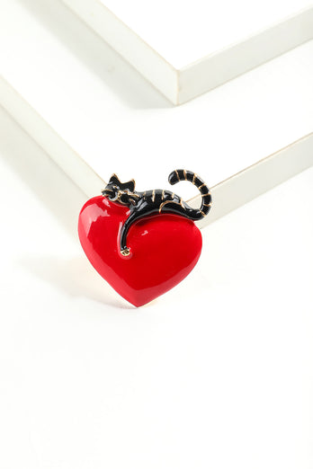 Love Cat Brooch