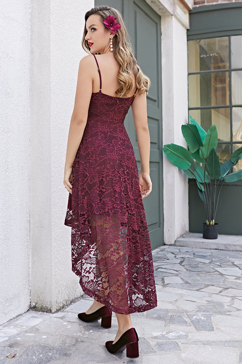 Load image into Gallery viewer, Straps Burgundy Lace