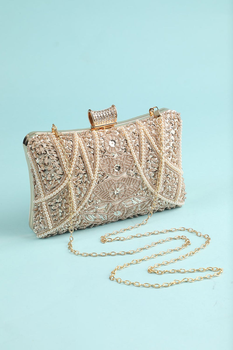 Load image into Gallery viewer, Reto Pearl Embroidery Handbag