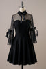 Load image into Gallery viewer, Black Halloween Vintage Dress