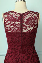 Load image into Gallery viewer, Asymmetrical Burgundy Lace - ZAPAKA