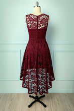 Load image into Gallery viewer, Asymmetrical Burgundy Lace