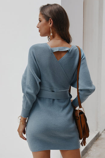 Knit Mini Bodycon Dress