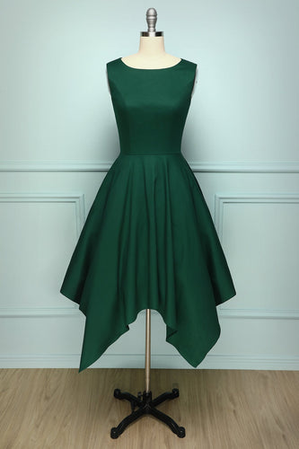 Dark Green Vintage Dress