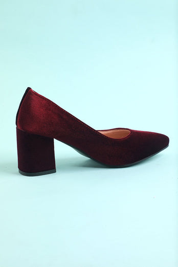 Women's Chunky Block High Heel