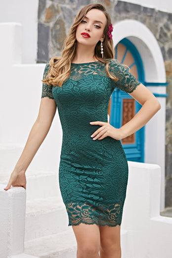 Green Bodycon Mother Dress