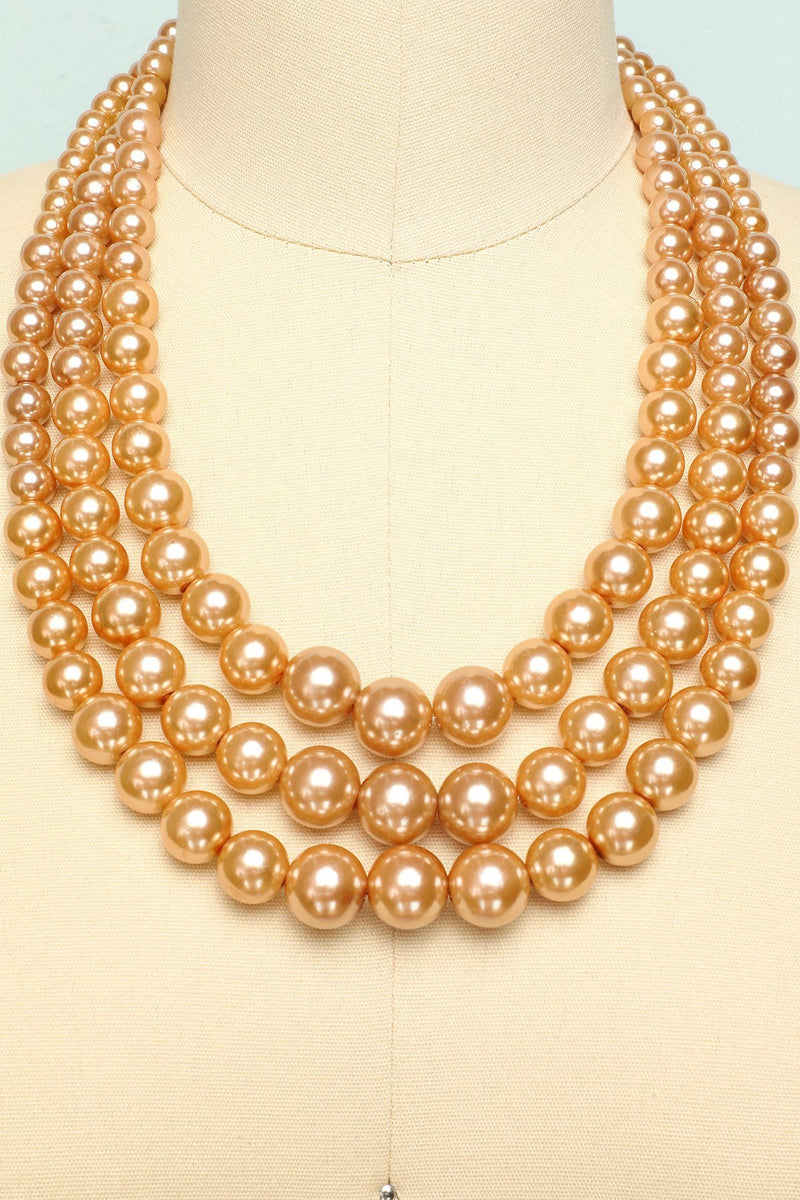 Load image into Gallery viewer, Pearl Necklace - ZAPAKA