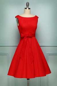 Red 1950s Swing