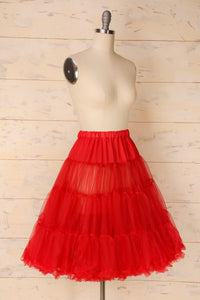Tulle Red Petticoat