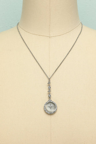 Vintage Water Droplets Necklace