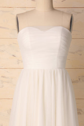 White Sweetheart Dress
