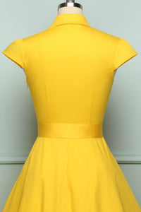 Yellow 1950s Swing