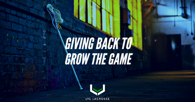 Giving Back with Lvl Lacrosse