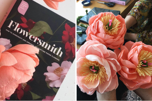 Book Review: Flowersmith, How to handcraft and arrange enchanting paper flowers by Jennifer Tran