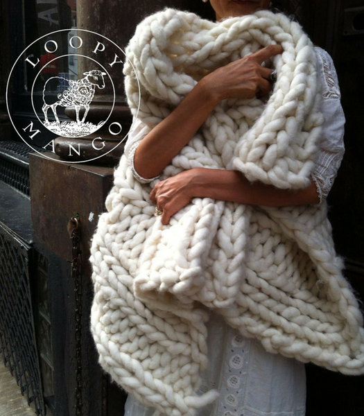Super-Chunky Knitting Kits & Wool