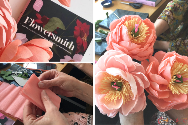 A book review on Flowersmith How to handcraft and arrange enchanting paper flowers