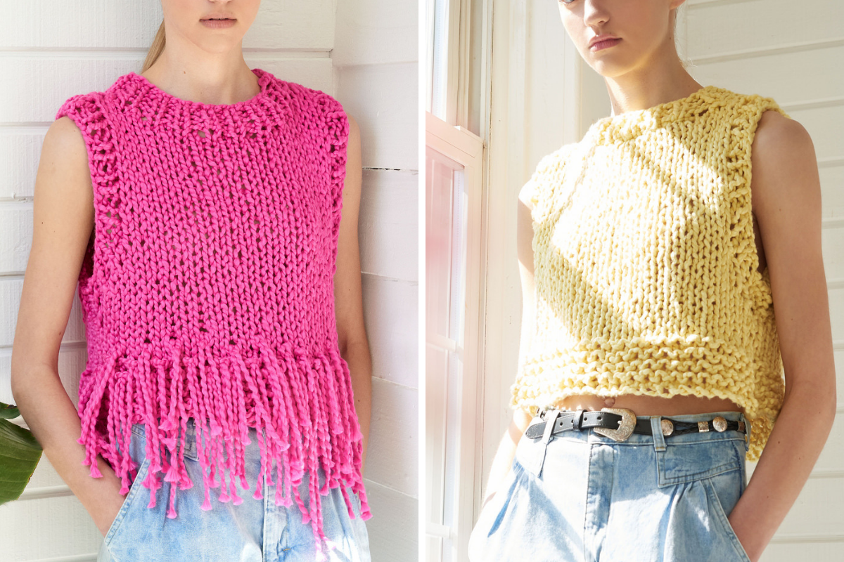 Make your own Cotton Fringe Top DIY Kit