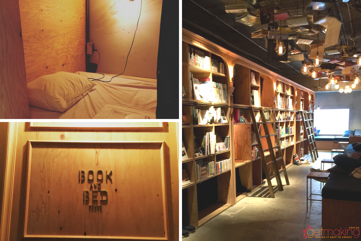 Accommodation at Book and Bed Ikebukuro Tokyo