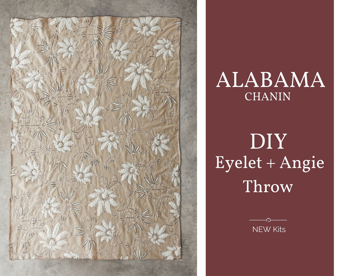 Alabama Chanin hand embroidery DIY Kit