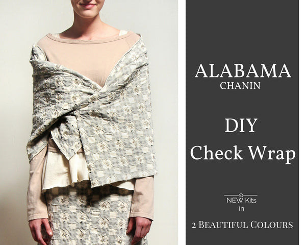 Alabama Chanin Check Wrap DIY Kit