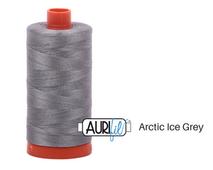 Arctic Grey Aurifil Thread