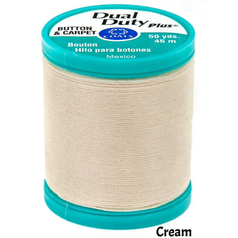 Coats Button Craft Dual Duty Sewing Thread in Red
