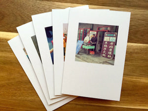 Greeting Cards from original photos from travelling through Beijing