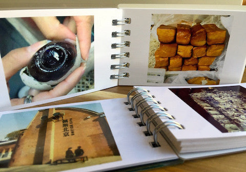 Original Photographs from Beijing in a Mini Photo Book
