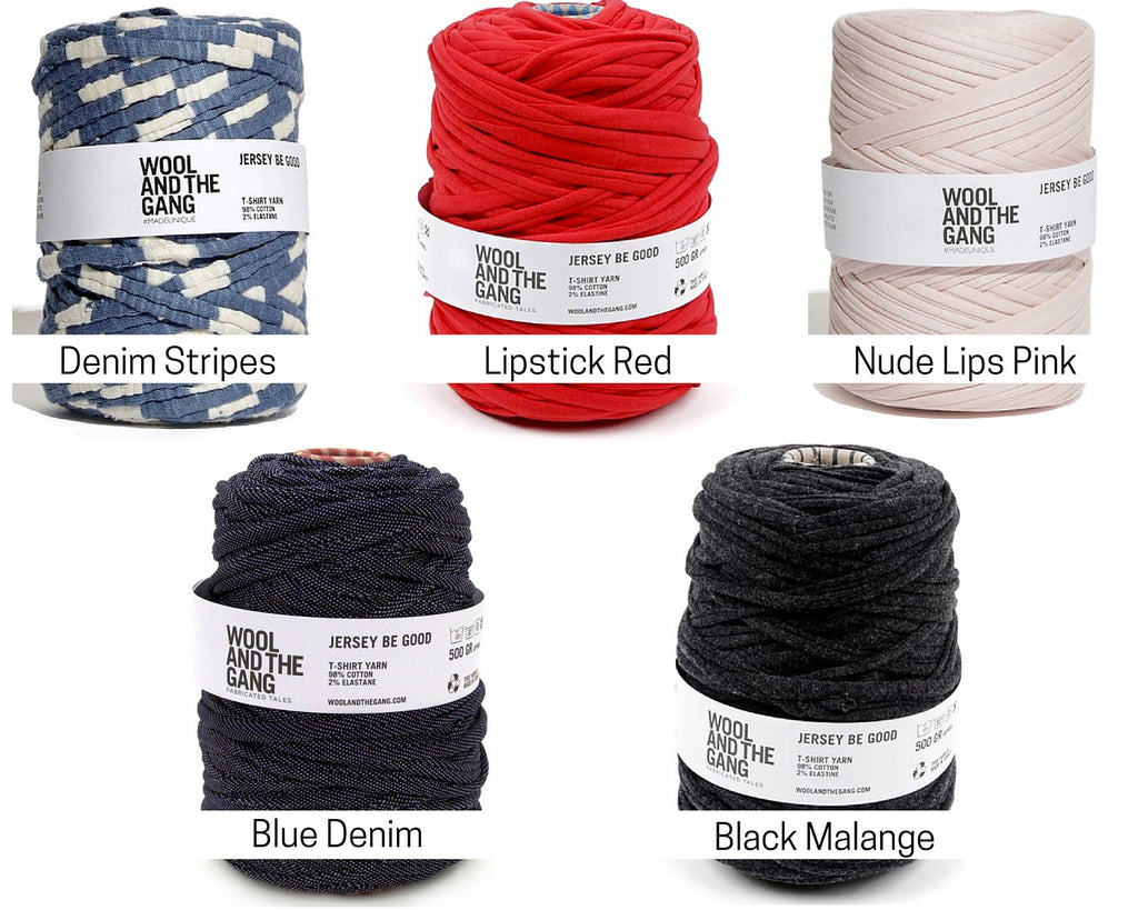 Wool and the Gang Jersey Be Good Yarn Colours