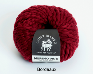 Loopy Mango Merino Bordeaux